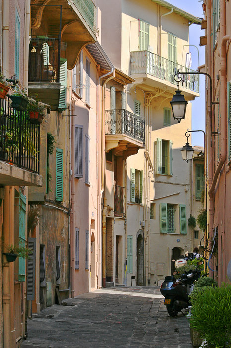 Cannes - Le Suquet - France Print by Christine Till