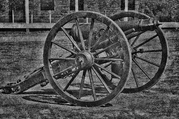Cannon Print by Todd and candice Dailey