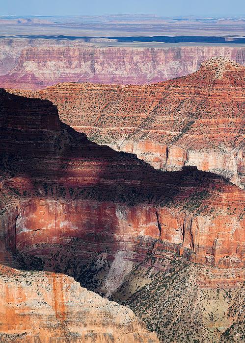 Canyon Layers Print by Dave Bowman