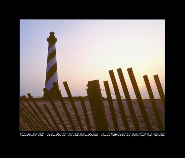 Cape Hatteras Lighthouse Print by Mike McGlothlen