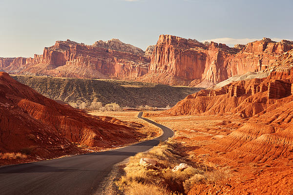 Capitol Reef National Park Landscape Print by Carolyn Rauh