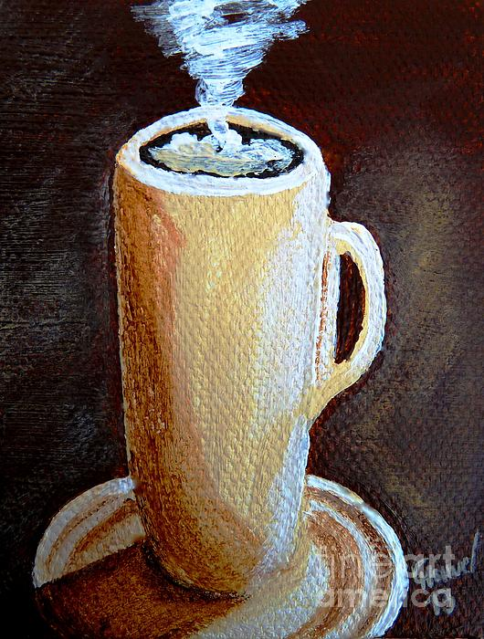 Cappuccino 3 Print by Christine Huwer