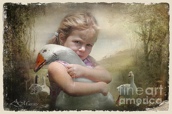 Captured Memories-not The Perfect World Print by Adelita Rog