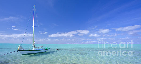 Caribbean Chill Time Print by Marco Crupi