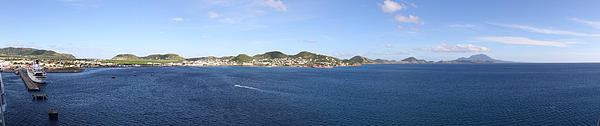 Caribbean Cruise - St Kitts - 12125 Print by DC Photographer
