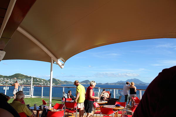 Caribbean Cruise - St Kitts - 121284 Print by DC Photographer