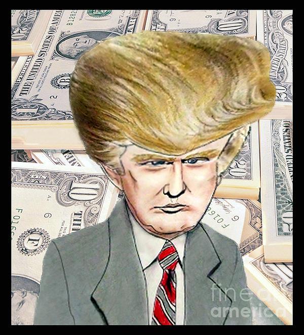 Jim Fitzpatrick - Caricature of Donald Trump