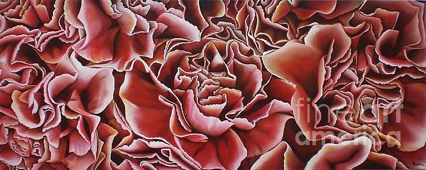 Carnations Print by Paula L