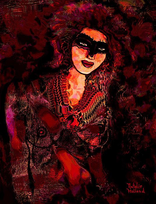 Carnavale Print by Natalie Holland