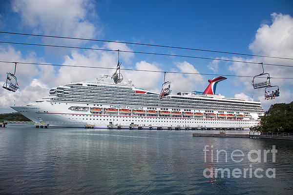 Carnival Conquest Print by Rene Triay Photography