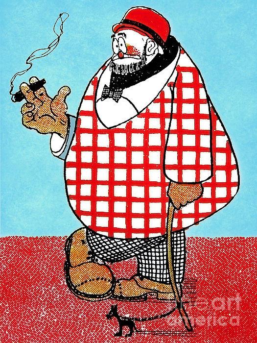 Cartoon 05 Print by Svetlana Sewell