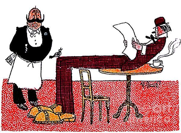 Cartoon 06 Print by Svetlana Sewell
