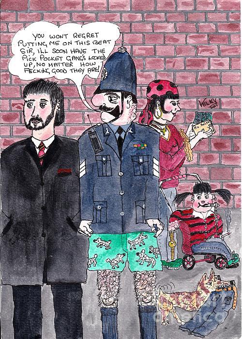 Cartoons Print by Alan Wilkinson