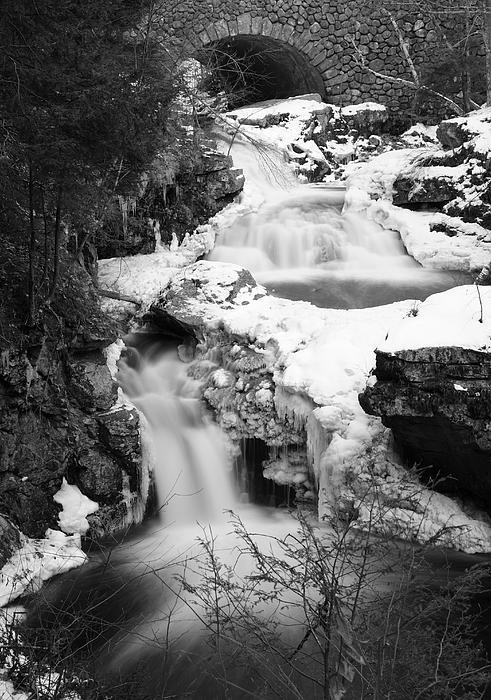 Cascades Of Velvet Print by Luke Moore