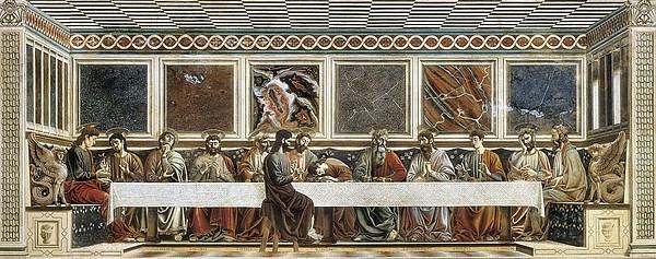 Castagno, Andrea Del 1423-1457. Last Print by Everett
