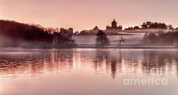 Castle Howard Dawn Print by Janet Burdon