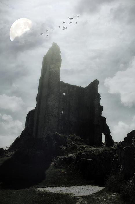 Castle Ruin Print by Joana Kruse
