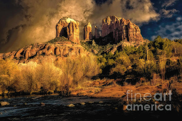 Jon Burch Photography - Cathedral Rock Before the Rains Came