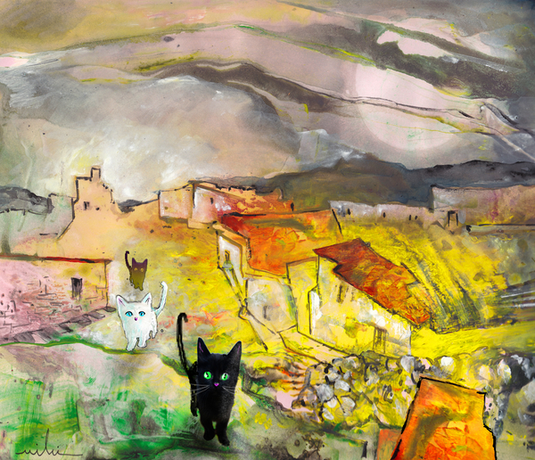 Catwalk Print by Miki De Goodaboom