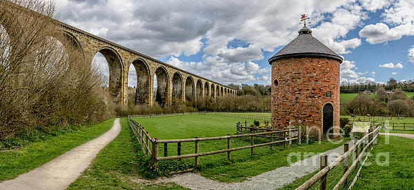 Cefn Viaduct Print by Adrian Evans