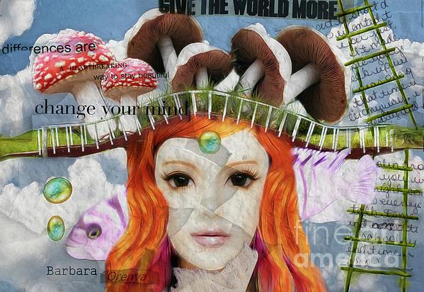 Celebrate Who You Are Print by Barbara Orenya