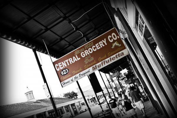 Central Grocery Print by Scott Pellegrin