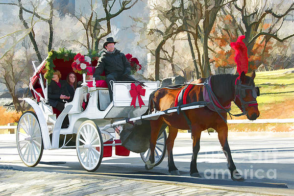 Regina Geoghan - Central Park Holiday Carriage Ride