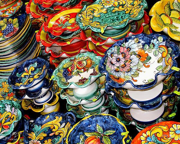 Ceramics Of Vietri Sul Mare By Jennie Breeze