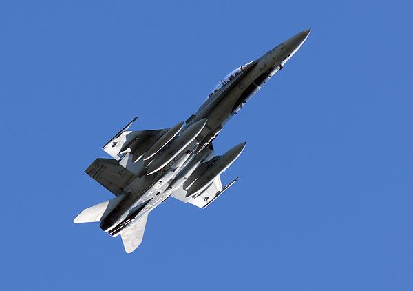 Cf-18 Hornet Print by Cale Best