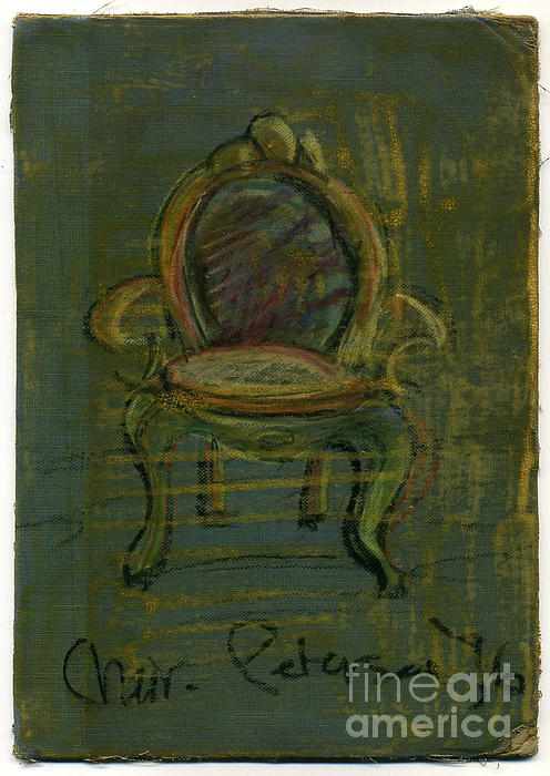 Chair Fetish '96 Print by Cathy Peterson