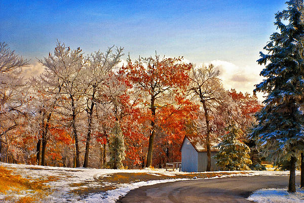 Change Of Seasons Print by Lois Bryan
