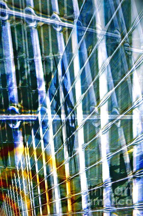 Chaos Print by Gwyn Newcombe