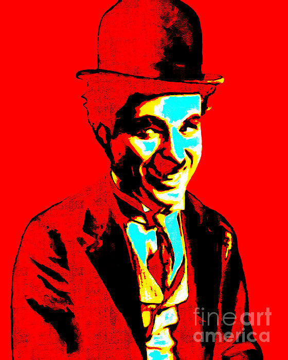 Charlie Chaplin 20130212 Print by Wingsdomain Art and Photography