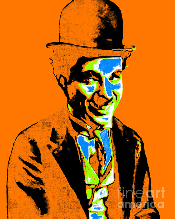 Charlie Chaplin 20130212p28 Print by Wingsdomain Art and Photography