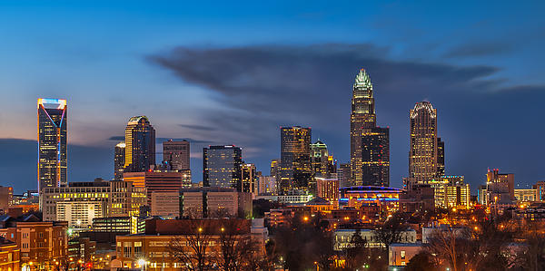 Charlotte North Carolina Print by Brian Young