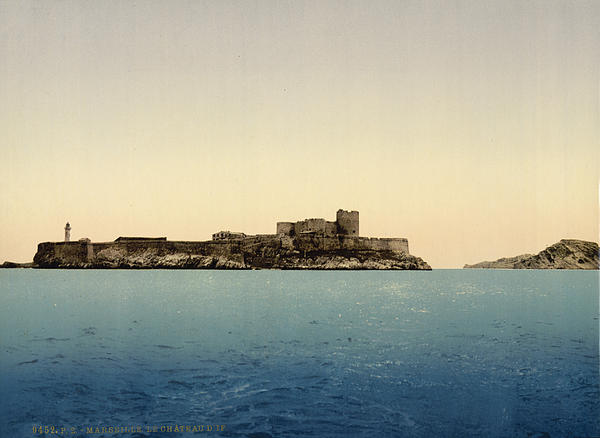 Chateau D'if Print by Nomad Art And  Design