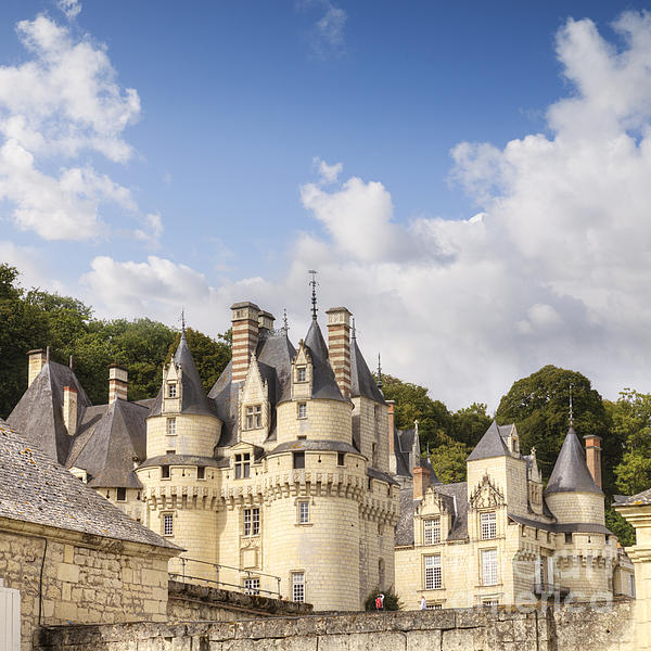 Chateau Usse Loire Valley France Print by Colin and Linda McKie