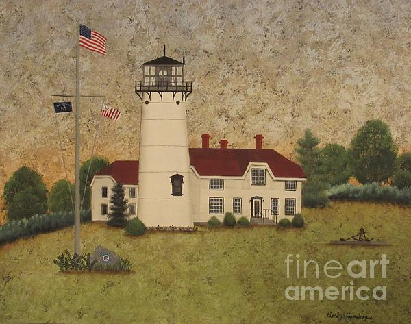 Chatham Light Print by Becky Humbarger