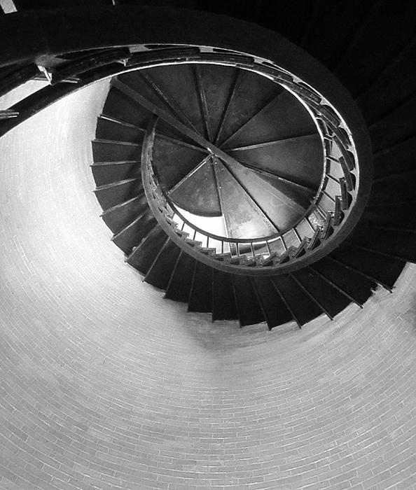 MaryAnn Barry - Chatham Lighthouse Staircase