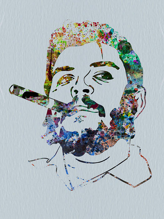 Che Watercolor Print by Naxart Studio