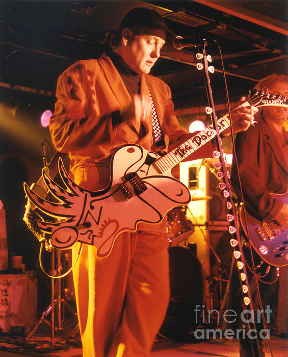 Cheap Trick-93-rick-3 Print by Gary Gingrich Galleries