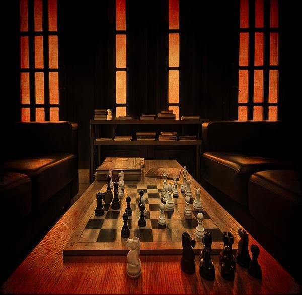 Checkmate Print by Evelina Kremsdorf