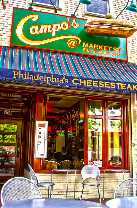 Cheesesteak Print by Frank Savarese