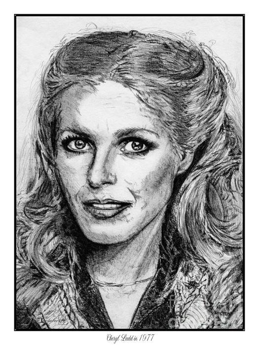 Cheryl Ladd In 1977 Print by J McCombie