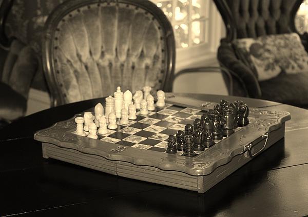 Cynthia Guinn - Chess Game