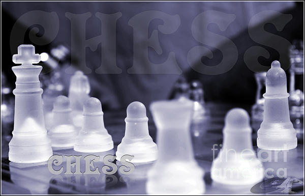 Chess Game Print by Pierre Chamblin