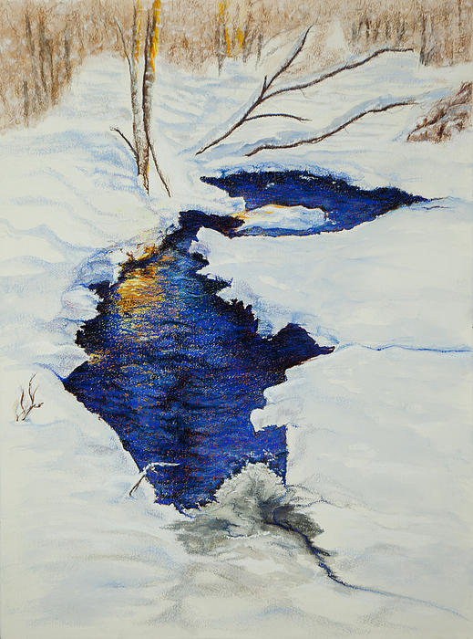 Chester Creek Print by Jocelyn Paine