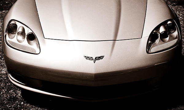 Chevrolet Corvette C6 Print by Phil 'motography' Clark