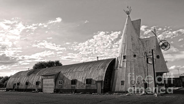 Cheyenne Wyoming Teepee - 02 Print by Gregory Dyer
