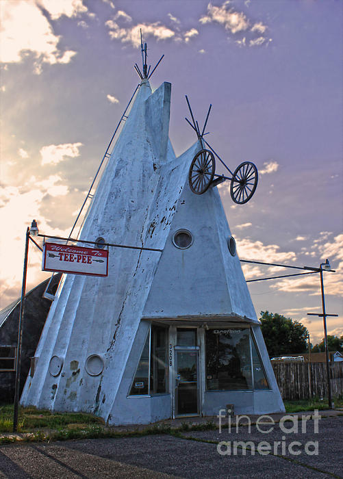 Cheyenne Wyoming Teepee - 03 Print by Gregory Dyer